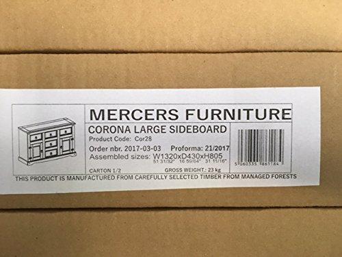 Mercers Furniture Corona Large Sideboard – Pine