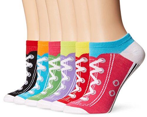 K-Bell Pack No Show Socken, Mehrfarbig, 21,59x 9,14x 5,58cm -