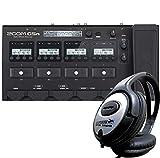 Zoom G5n Gitarren-Multieffektgerät + KEEPDRUM Stereo-Kopfhörer