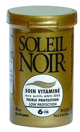 SOLEIL NOIR 56 Soin Vitaminé 6 Faible Protection