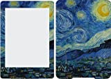 Kindle Paperwhite (2012) Ebook Skin Cover Vinyl Sticker Starry Night Van Gogh KP5