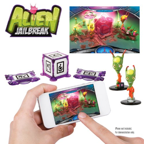 WowWee 0160 - App Gear Alien Jailbreak, Spielfiguren für die Spiele-App