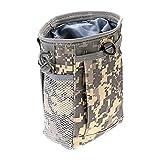 SHI-Y-M-ZDD, Militar Molle munición Bolsa Paquete táctico del Arma Revista volcado Gota Reloader la Bolsa de la Utilidad de Fusil de Caza Revista de la Bolsa al Aire Libre (Color : ACU)