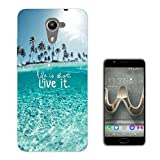 002533 - Sea View Life is short live it Design Wiko U Feel