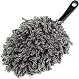 Plumeau attrape-poussière pour nettoyage Clean Brosse de balai dépoussiérant outil-Gris