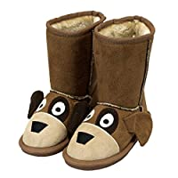 Lazy One Unisex Dog Toasty Toez Slippers Kids