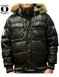 Dolomite - Fitz Roy EVO de plumón chaqueta de invierno -  - Dark Brown Marrón marrón oscuro Talla:xxx-large