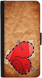 Snoogg Broken Heart Designer Protective Phone Flip Back Case Cover For Lenovo Vibe K4 Note