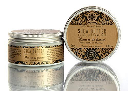 Saules Fabrika 100% Reine Shea Butter Intensiv Pflege Körper Gesicht Haare Naturkosmetik natürlich Sheabutter -