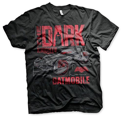 Offizielles Lizenzprodukt Dark Knight Batmobile T-Shirt (Schwarz), XX-Large