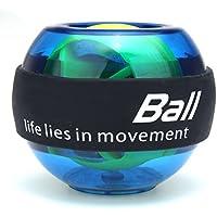 Slimerence Rotationsball, Handtrainer Energyball Mit Light Handgelenk trainingsgerät für Arm Handgelenk Hand Power Training Ball