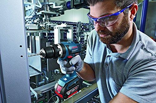Bosch Professional Akku-Schlagbohrschrauber GSB 18 V-EC mit 2 x 4,0 Ah Li-Ion, Schnellladegerät AL 1860 CV, L-BOXX, 1 Stück, 06019E9101 - 4