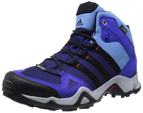 Adidas Femmes AX2Mid GTX Chaussures de Randonnée pour Homme Nuiflu/noiess/bleluc