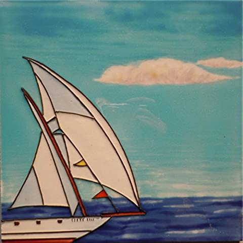 'Sailboat at Sea' 8