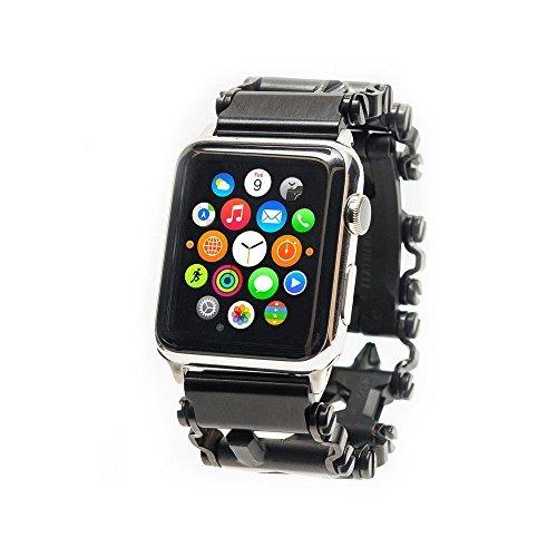 Uhradapter für Leatherman TREAD und Apple Watch silber