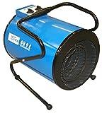 Güde 85104 GH ElektroheizerGH 9 E 400 Volt 4,5-9 kW, 4500 W, 400 V, Schwarz, Blau