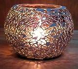 Deko Mosaikglas Windlicht Teelichthalter Teelicht Kerzenhalter Bunt Glas Mosaik Accessoires Kugel Geschenkidee