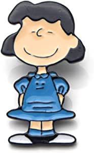 pretty.lovable.mishmash Lucy Van Pelt Peanuts Pin, Lucie Snoopy, Snoopy Dog Spilla Smaltata Badge