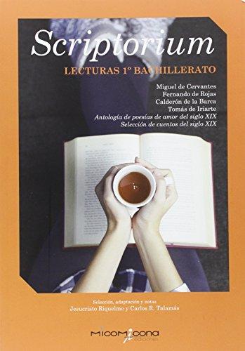 SCRIPTORIUM LECTURA 1 BACHILLER - 9788494408397