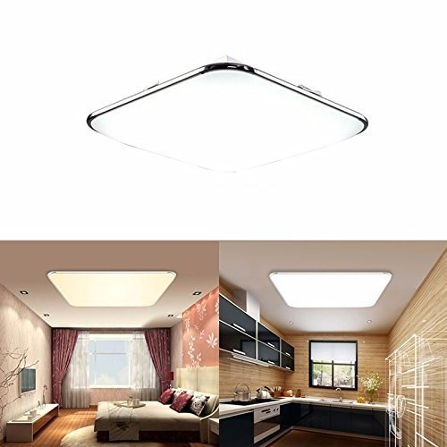 sailun 12w kaltwei ultraslim led deckenleuchte modern deckenlampe flur wohnzimmer lampe. Black Bedroom Furniture Sets. Home Design Ideas