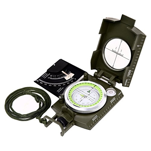 VGEBY1 Digital Compass Navigation Compass Multi-function Electronic Compass for Outdoor Activity
