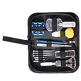 Uokoki Armbanduhr Reparatur DIY Kit-Uhr-Kasten-Öffner-Batterie Schraubendreher Tweezer Wartung Werkzeug-Satz