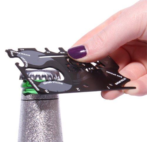 Novelty - Wallet Ninja - 18 In 1 Pocket Multi Tool - ThumbsUp!