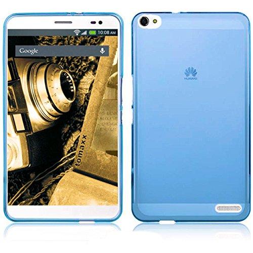 tomaxx Hülle Huawei Mediapad X2 Tablet-PC Schutzhülle Tasche blau