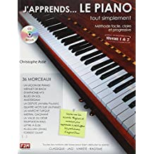 J'Apprends...le Piano Tout Simplement Niveau 1&2 C. Astie CD