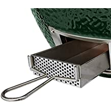 Dracarys BBQ Slid Out Ash Drawer, herramienta de ceniza de acero inoxidable Funciona para Large