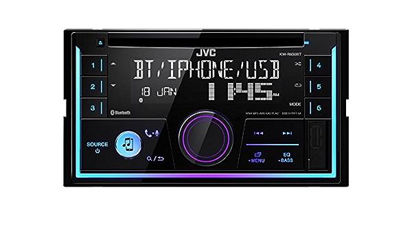 Jvc Autoradio Kwr930bt 2 Din Bluetooth Spotify Mit Elektronik