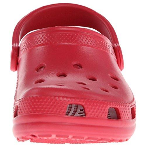 Crocs Classic, Sabots Mixte Adulte Rouge