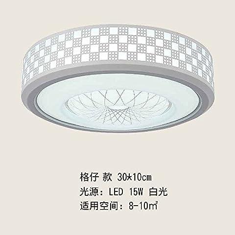 Lampada da soffitto Led luci luci di camera da letto soggiorno cucina lampada illumina il balcone con semplice e moderno e rotonda