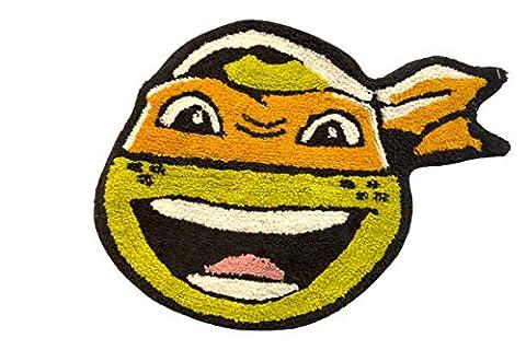 Nickelodeon Teenage Mutant Ninja Turtles Michaelangelo Bath Rug