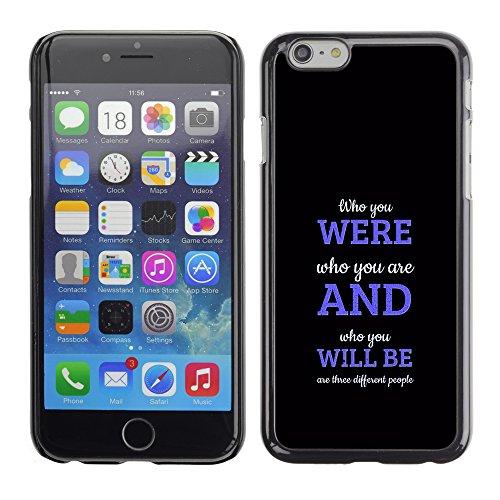 Graphic4You Be Fearful Of Mediocrity Englisch Zitat Nachricht Harte Hülle Case Tasche Schutzhülle für Apple iPhone 6 / 6S Design #1