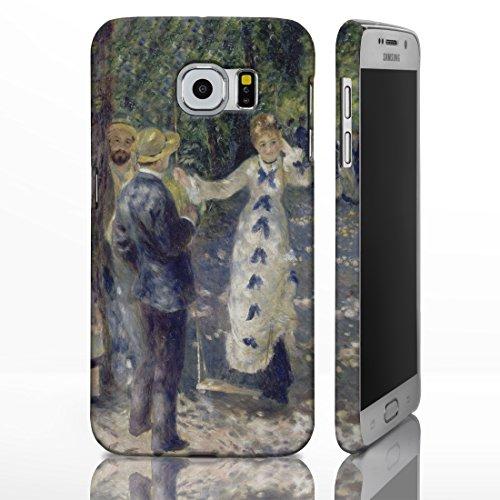 Schutzhüllen, für die Samsung Galaxy-Reihe, mit Motiven aus der klassischen Kunst Gemälde berühmter Künstler, plastik, The Swing - Auguste Renoir, Galaxy Note 2 Samsung Swing