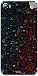 GsmKart MCF4 Mobile Skin for Micromax Canvas Fire 4 (Black, Canvas Fire 4-905)