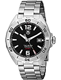 TAG HEUER MEN'S FORMULA 1 41MM STEEL BRACELET AUTOMATIC WATCH WAZ2113.BA0875