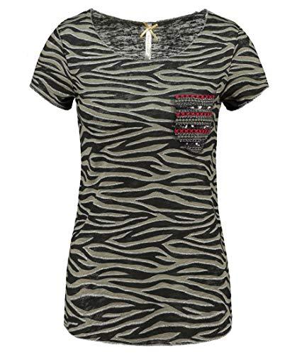 Key Largo Damen T-Shirt WT Explore Round Khaki (44) 40