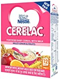 #9: Nestlé CERELAC Infant Cereal Stage-4 (12 Months-24 Months) Multi Grain & Fruits 300g