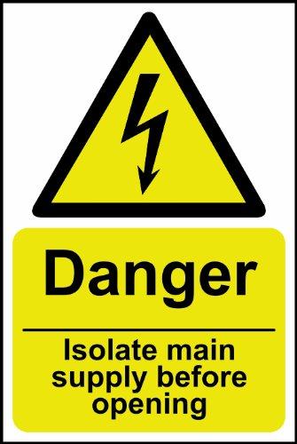 8.008,6cm Gefahr Isolieren Main Netzteil vor öffnen
