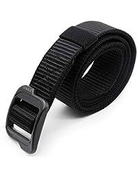 aperil Cintura Tattica - Resistente e Confortevole e Completamente  Regolabile - Cintura di Nylon Rinforzata con 4a22b8fcd22