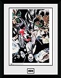 DC Universe DC Comics Batman Comic, Villains gerahmtes Foto, mehrfarbig, 40x 30cm