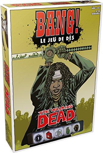 Asmodee - Société - Bang le Jeu de Dés the Walking Dead, BAN11FR