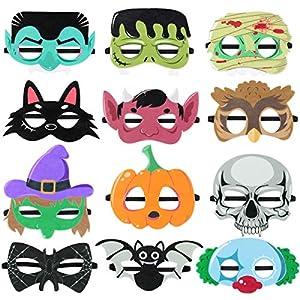 Toyvian Máscaras de Halloween 12