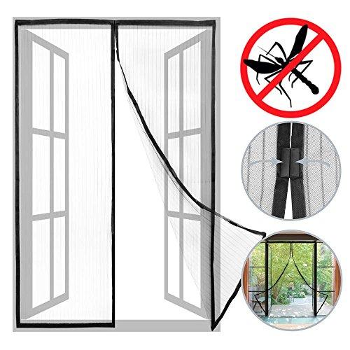 Primematik - zanzariera per porta 100 x 210 cm con chiusura magnetica