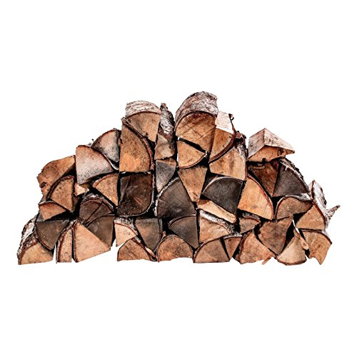 Kaminholz Brennholz Feuerholz Holz Birke ofenfertig trocken 25 cm Länge. Verschiedene Gewichtsvarianten, Größe:125 kg