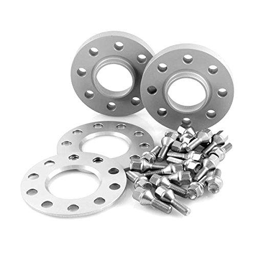 TuningHeads/H&R .0509304.DK.75725-05-15-OS.5ER-TYP-560X ABE Spurverbreiterung, VA 10 mm/HA 30 mm + Radschrauben