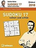 Stefan Heine: Sudoku 17 2018 - Tagesabreißkalender, Rätsel und Wissen, Logikkalender  -  11,8 x 15,9 cm