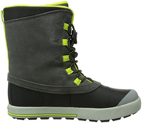Merrell SNOW BANK Jungen Trekking & Wanderstiefel Grau (Grey/Lime)